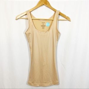 NWOT Spanx Assets Nude Shapewear Tank Top